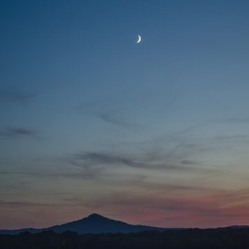 Księżycowa noc nad śląską